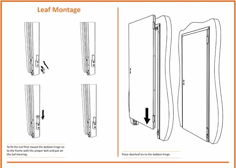 Fire Door Leaf Installation
