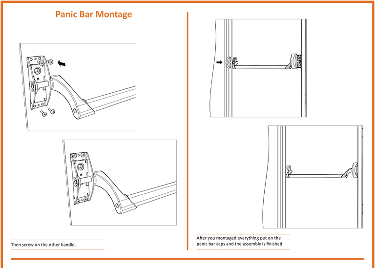Fire Door Panic Bar Installation