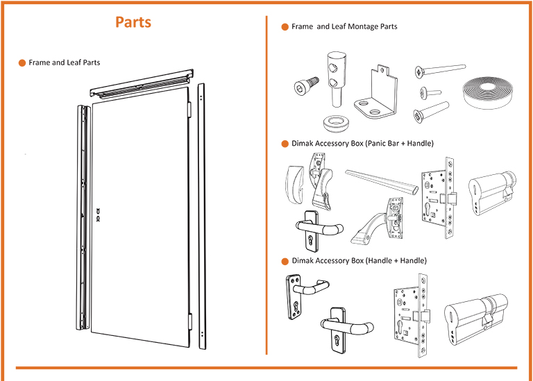 Dimak Fire Door Parts
